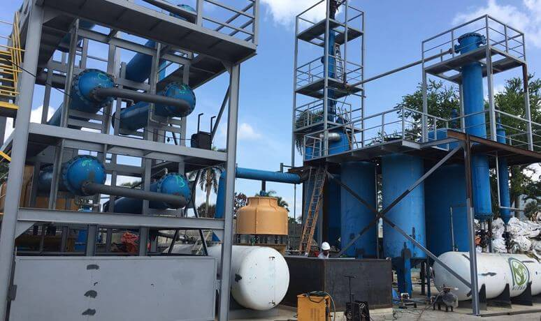 Waste Rubber / Plastic Pyrolysis Plant - WPENVIRONMENTAL